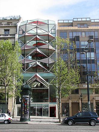 Manuelle Gautrand - Manuelle Gautrand: Espace Citroën, Champs-Élysées, Paris