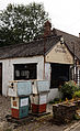 Essex England garage forecourt old fuel pumps and building Henham.jpg