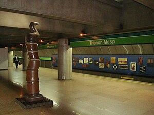Trianon-Masp (São Paulo Metro) - Trianon-Masp station