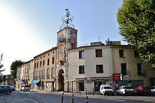 Estagel Commune in Occitanie, France
