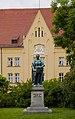 Estatua de Luis IX, Duque de Baviera, Dreifaltigkeitsplatz, Landshut, Alemania, 2012-05-27, DD 01.JPG
