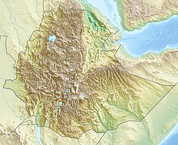 Location of Lake Tana in Ethiopia.