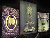Eucharistic Miracle of Lanciano - rear-lighted panel - side.JPG