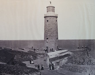 Europa Point Lighthouse - Europa Point Lighthouse in 1879