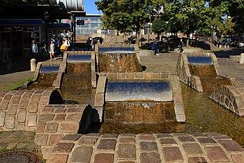 Brunnenanlage an der Schevenbrücke
