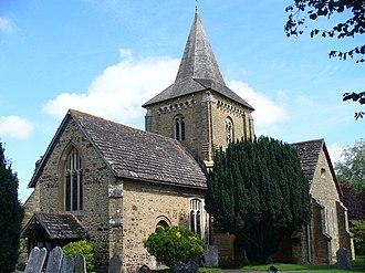 Ewhurst, Surrey - Image: Ewhurst Parish Church geograph.org.uk 535213
