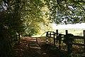Exford, a public footpath by the churchyard - geograph.org.uk - 267963.jpg