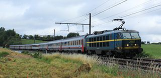 Belgian railway line 162 railway line in Belgium
