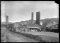 Exterior view of the brickworks of the Silverstream Brick and Tile Company, 1930. ATLIB 295288.png