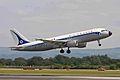 F-GFKJ A320-211 Air France Retro MAN 14JUN11 (5832707365).jpg