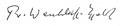 F. W. Wentzlaff-Eggebert. Signatur.jpg