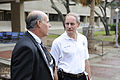 FEMA - 39619 - Deputy FEMA Administrator Harvey Johnson tours damaged UTMB in Galveston.jpg