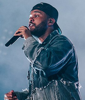 The Weeknd Canadian singer, songwriter, actor and record producer