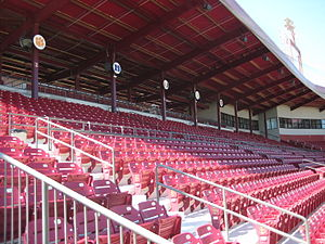 Mike Martin Field at Dick Howser Stadium - Grandstands