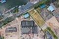 Fabrikhallen der ehemaligen Gasmotorenfabrik Deutz, Klöckner-Humboldt-Deutz, Westwaggon, Köln-Mülheim - Luftaufnahme-0905.jpg