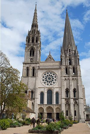 Chartres - Cathedral of Chartres.