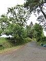 Farm access road to Hilltown (geograph 5816500).jpg