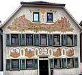 Fassade von Karl Max Lechner an der Wettgasse 11 in Bad Mergentheim.jpg