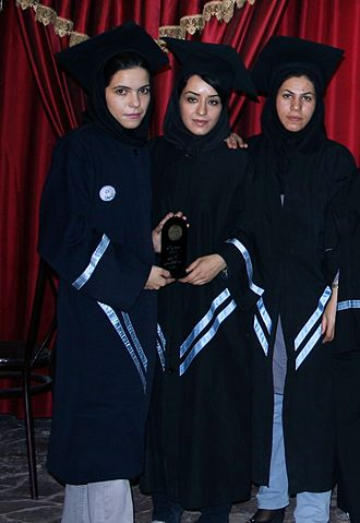 Women in Iran - Female alumnae of Isfahan University of Technology. According to UNESCO data from 2012, Iran has more female students in engineering fields than any other country in the world.