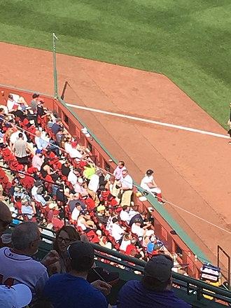2018 Boston Red Sox season - Safety netting near the third base line
