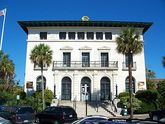 United States Post Office, Custom House, and Courthouse (Fernandina, Florida) - The post office in 2011