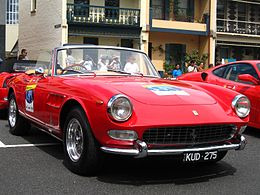 Ferrari 275 GTS - front right 1 (Argyle Place, Carlton, VIC, Australia, 3 March 2007).JPG