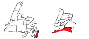 Ferryland (electoral district) - Image: Ferryland