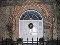 Festive Doorway, Lechlade on Thames - geograph.org.uk - 642058.jpg