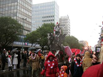 St. Martin's Day - Procession of Saint Martin in Poznań, 2006