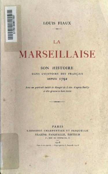 File:Fiaux - La Marseillaise.djvu