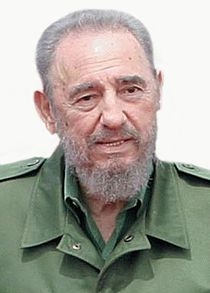 Fidel Castro, ex-presidente de Cuba.