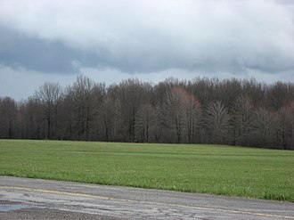 Coitsville Township, Mahoning County, Ohio - Fields at the McGuffey Homesite in northwestern Coitsville Township