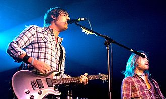 Charlie Simpson - Simpson performing with Fightstar in 2011