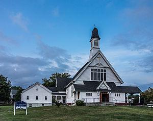 Rumford, Rhode Island - First Baptist Church, designed by William Walker