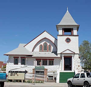 First Baptist Church (Alamosa, Colorado) - Image: First Baptist Church (Alamosa, Colorado)