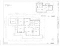 First Floor Plan and Basement Plan - J A Ranch Headquarters, Main House, Paloduro, Armstrong County, TX HABS tx-3530-A (sheet 1 of 5).tif