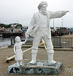 Fisherman and child, Mallaig.jpg