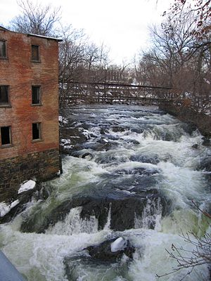 Fishkill Creek - Fishkill Creek in Beacon