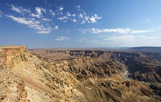ǁKaras Region - Fish River Canyon - Namibia