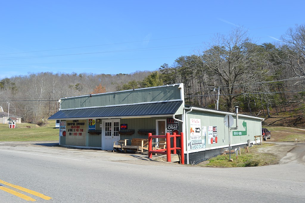 Country store on State Route 775 at Five Mile Creek