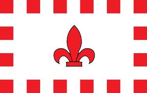 Fleur-de-Lys, Malta - Image: Flag of Fleur de Lys, Malta