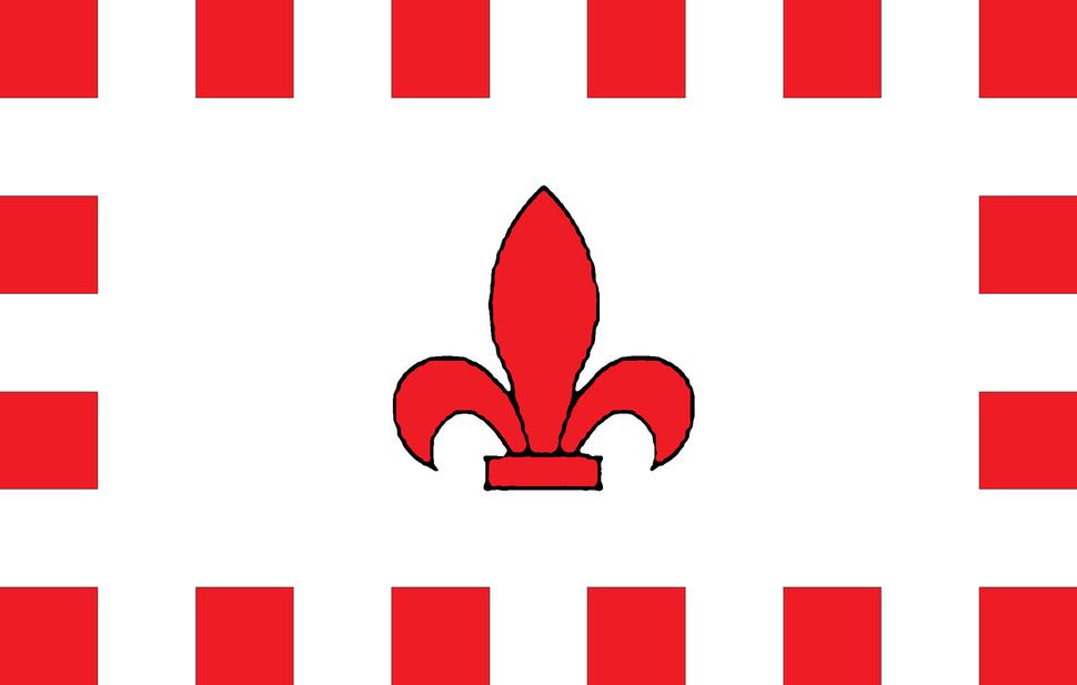 Flag of Fleur-de-Lys, Malta