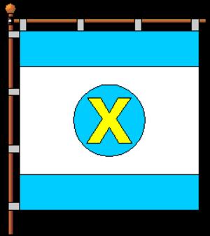 Khodoriv - Image: Flag of Khodoriv