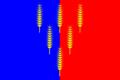 Flag of Magnitnoe (Chelyabinsk oblast).png