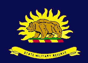 Russell Stuart - Image: Flag of the California State Military Reserve