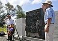 Flickr - Official U.S. Navy Imagery - American World War II veterans salute at the Battle of Midway National Memorial..jpg