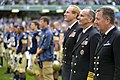 Flickr - Official U.S. Navy Imagery - The Superintendent, SECNAV and CNO salute and pay respect during the singing of the Irish and U.S. national anthems. (1).jpg