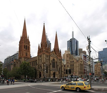 St Paul's Cathedral, Melbourne - Wikiwand