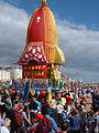Float at a Hare Krishna parade on Hove Seafront.jpg