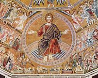 Christ Pantokrator and the Last Judgement (mos...